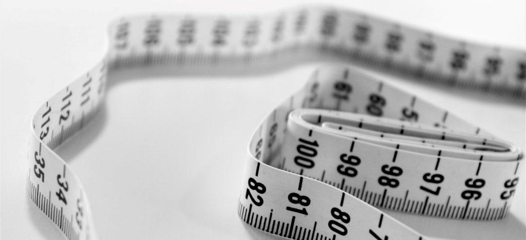 Målebånd overvægt