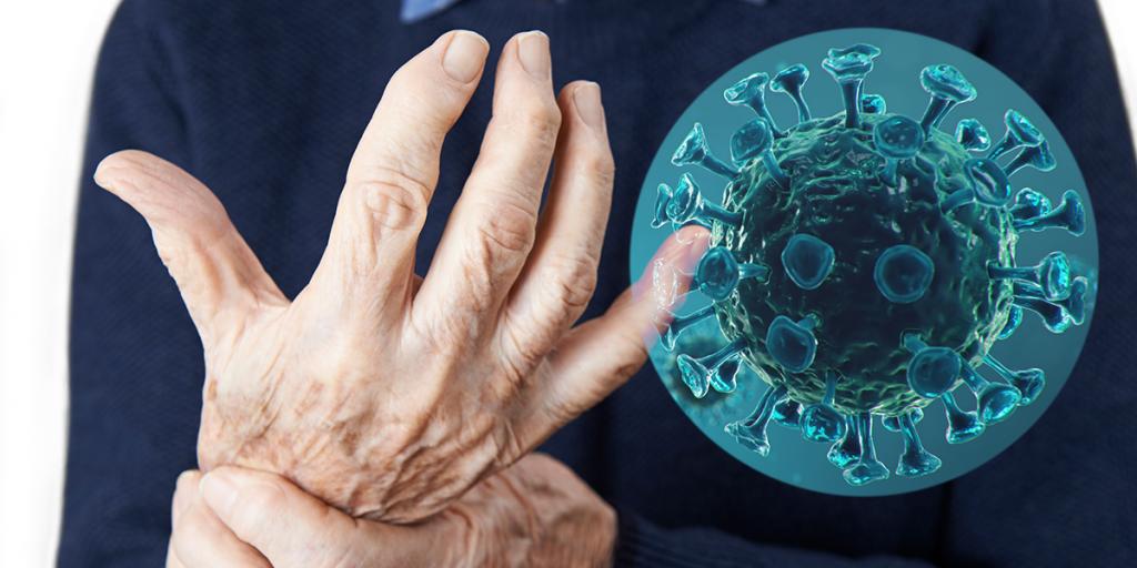 Man Suffering With Arthritis, covid-19